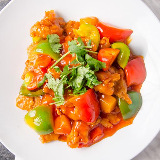 Sweet & Sour Veggie Ribs
