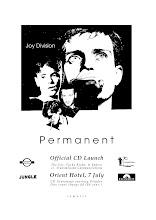 Photo: Poster for Permanent event. COM13. Design by Anna Petrou.