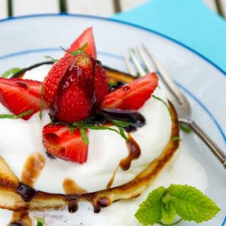 Balsamic Strawberries with Mascarpone Whipped Cream