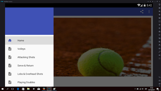 Tennis Training - náhled