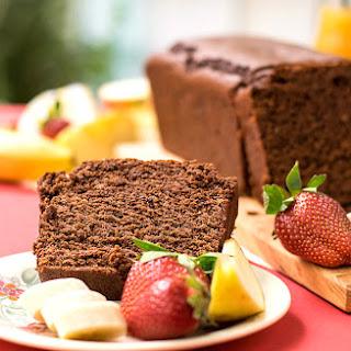 Olive oil & tahini Chocolate Cake.