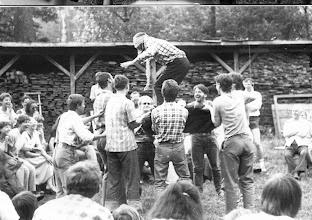 Photo: Święta Lipka 1987 zabawa