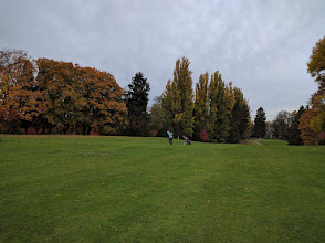 Photo: Linda at Jefferson Golf Course - 15th Hole Oct 19, 2016