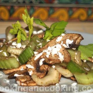Celery and Mushroom Salad Recipe