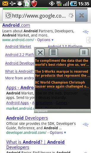 Everywhere Clipboard Lite screenshot 1