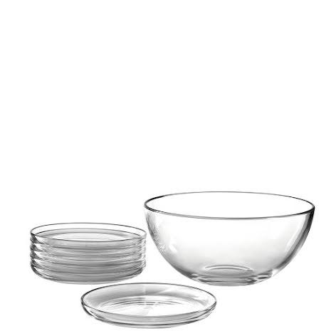 CUCINA Skålset 5 delar i glas