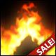 Magic Flames: fire simulation sandbox & wallpaper