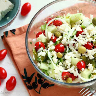 Shopska Salad – Bulgarian Food