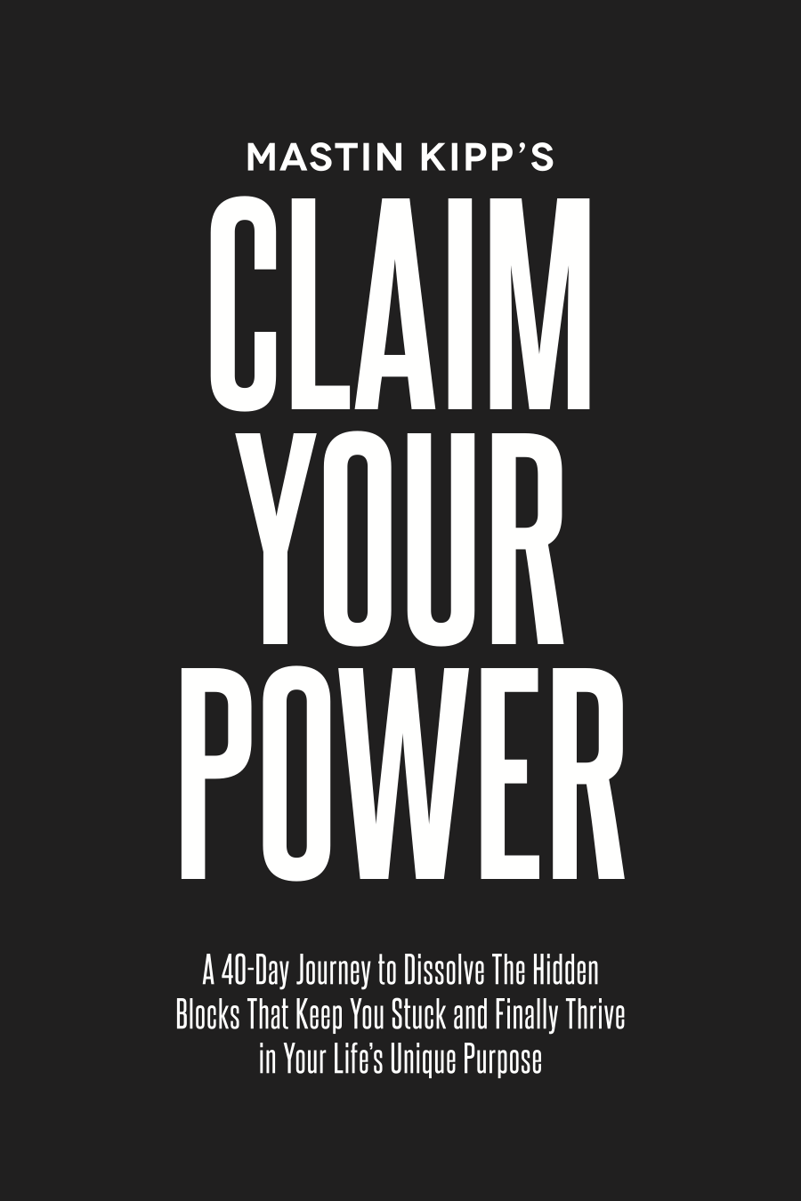 Claim Your Power - Final Cover
