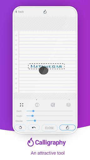 Matnnegar (Write On Photos) screenshots 7