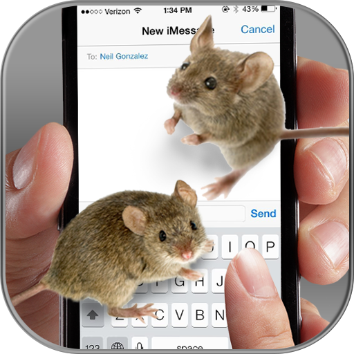 Mouse on Screen – Funny Joke
