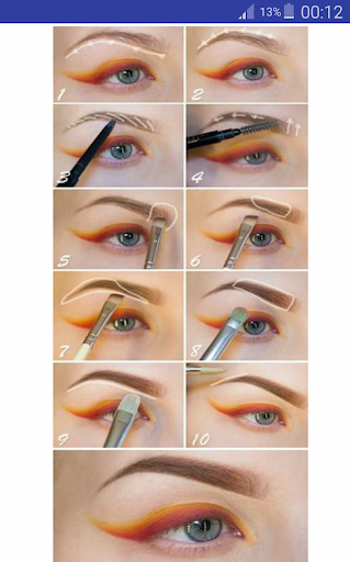 Makeup Step By Step 1.4 screenshots 7