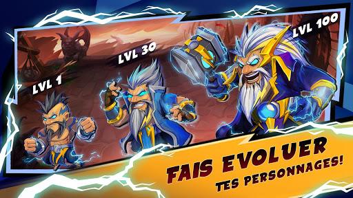 Mighty Party: Heroes Clash  captures d'u00e9cran 2