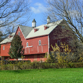 Red Barn Berks County, PA by Jerry Hoffman - Buildings & Architecture Other Exteriors (  )