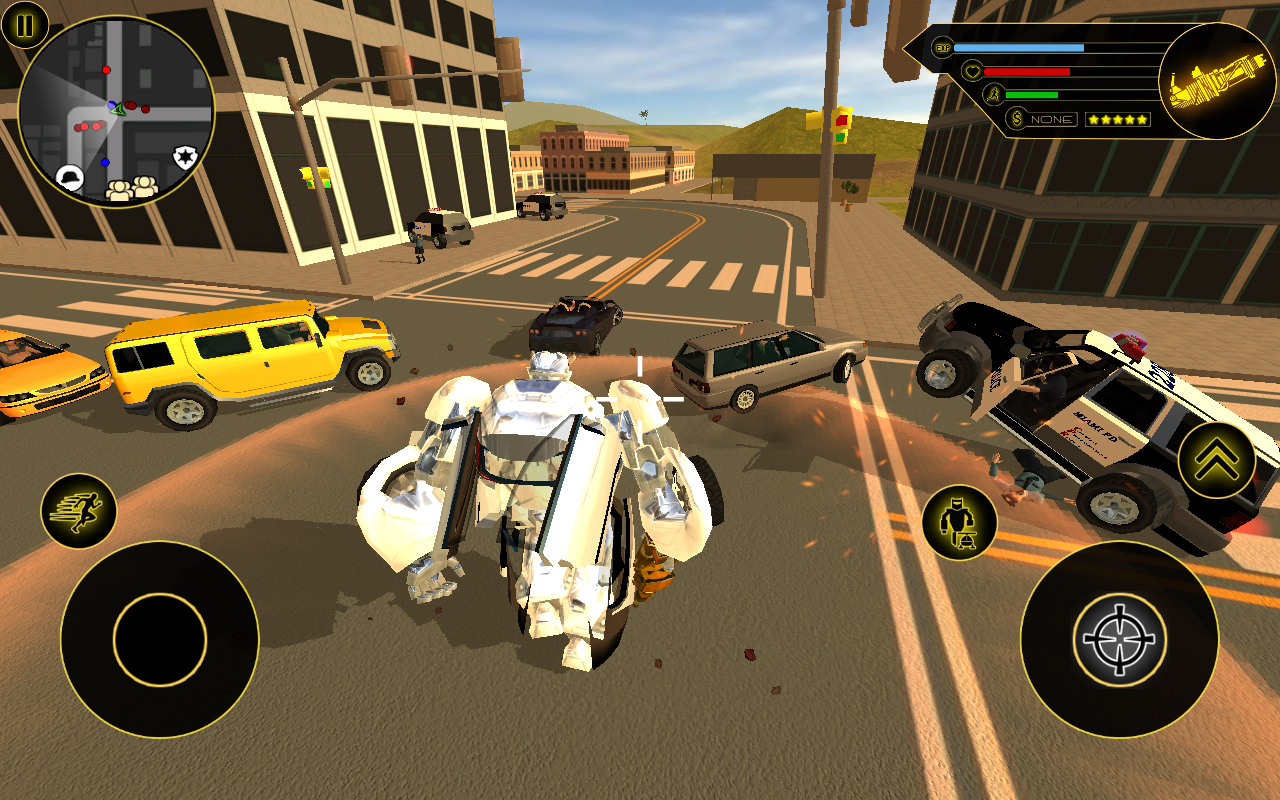 Robot Car- screenshot