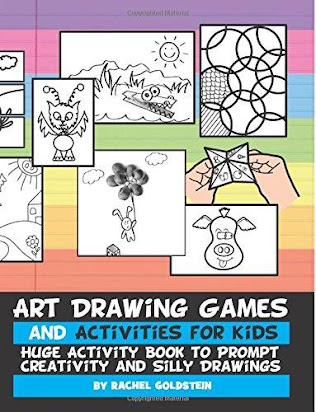 Art Drawing Games and Activities for Kids Huge Activity Book