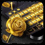 Golden Rose Keyboard Icon
