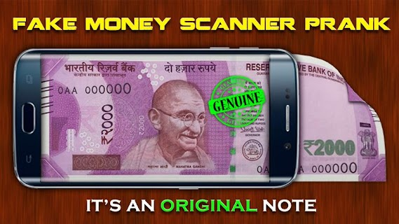 Fake Money Scanner Prank screenshot 01