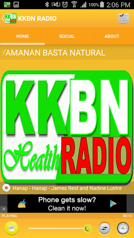 android KKBN RADIO Screenshot 1