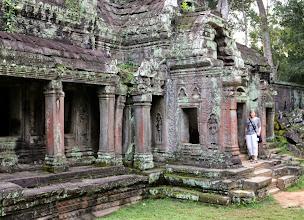 Photo: Turisti, temppeli ja viidakko (Ta Prohm)