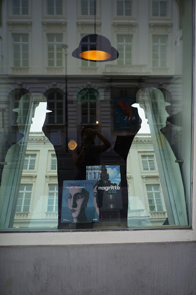 Display of Magritte in Brussels, Belgium (2014)