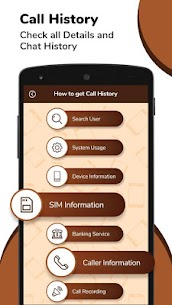 Call History : Any Number Details 3