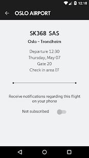Avinor Flights- screenshot thumbnail