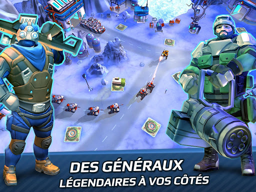 Tower Defense Generals TD fond d'écran 2