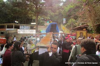 Photo: OS SIMBOLOS DA JORNADA  MUNDIAL DA JUVENTUDE 2013  EM BELFORD ROXO / DIOCESE DE NOVA IGUAÇU - BUSCANDO EM PETRÓPOLIS
