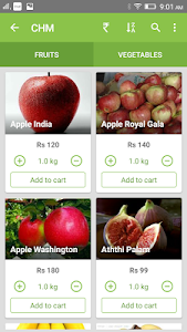 Chm Fruits and Vegetables screenshot 1