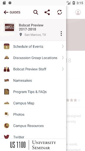 Texas State University Events  screenshots 2