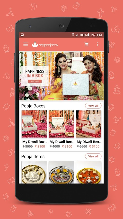 mypoojabox - online pooja samagri- screenshot