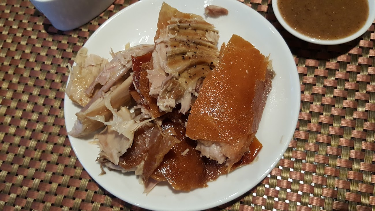 PLATE FULL OF LECHON.