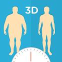 BMI 3D (3D BMI Calculator) icon