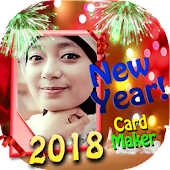 New Year 2018 Card Maker