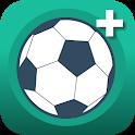 Chega + | Jogue futebol: organize, placar, quadra icon