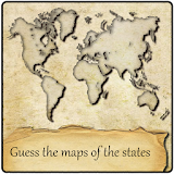 Guess the maps of the states