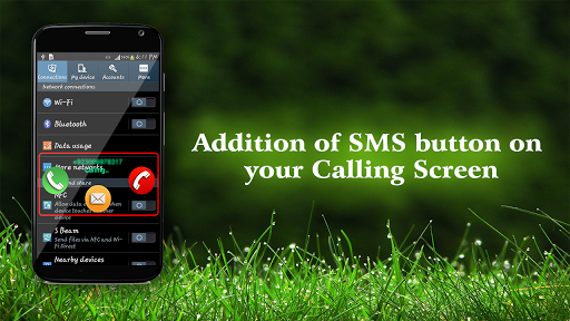 Send SMS on Call Receive