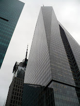 Photo: Bank of America Tower, Sixth Avenue, between 42nd and 43rd Streets, opposite Bryant Park. 