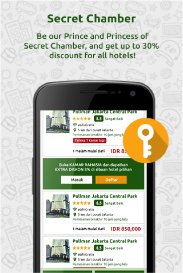 RajaKamar - Hotel Booking- screenshot