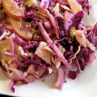 Red Cabbage and Apple Salad.