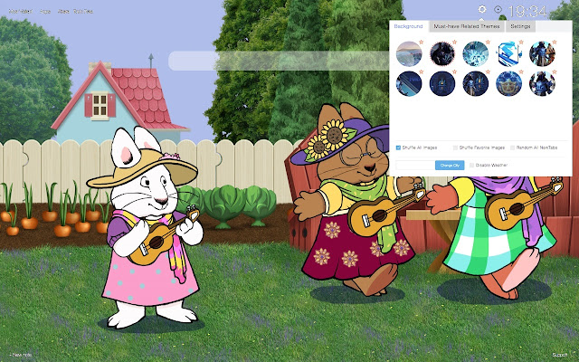 Max and Ruby HD Wallpapers New Tab
