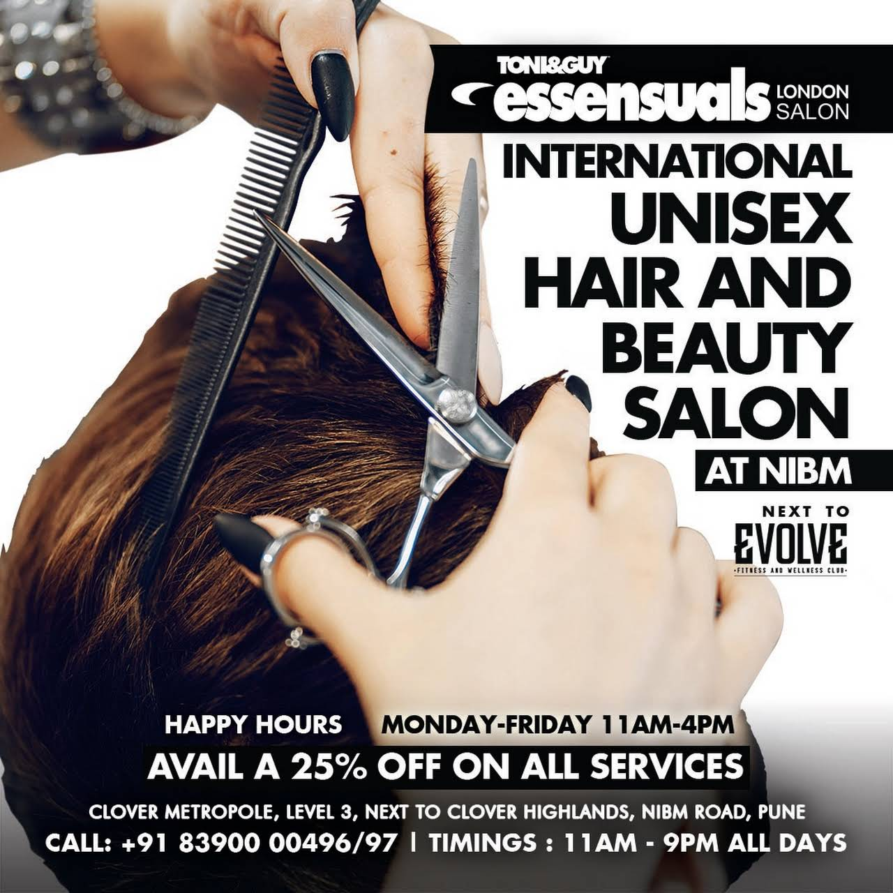 toni and guy services