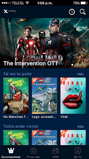 Megacable Xview- screenshot thumbnail