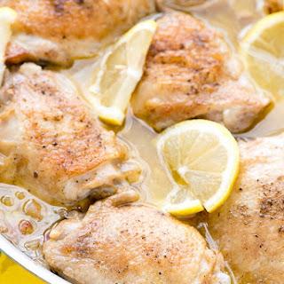 Irresistible Lemon-Garlic Chicken Thighs