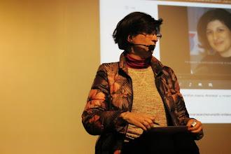 Photo: María Sánchez-Campillo estupenda con el micrófono de diadema....estaba encantada.