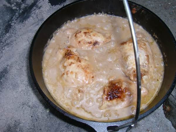 Easy Baked Chicken And Rice In The Dutch Oven Recipe