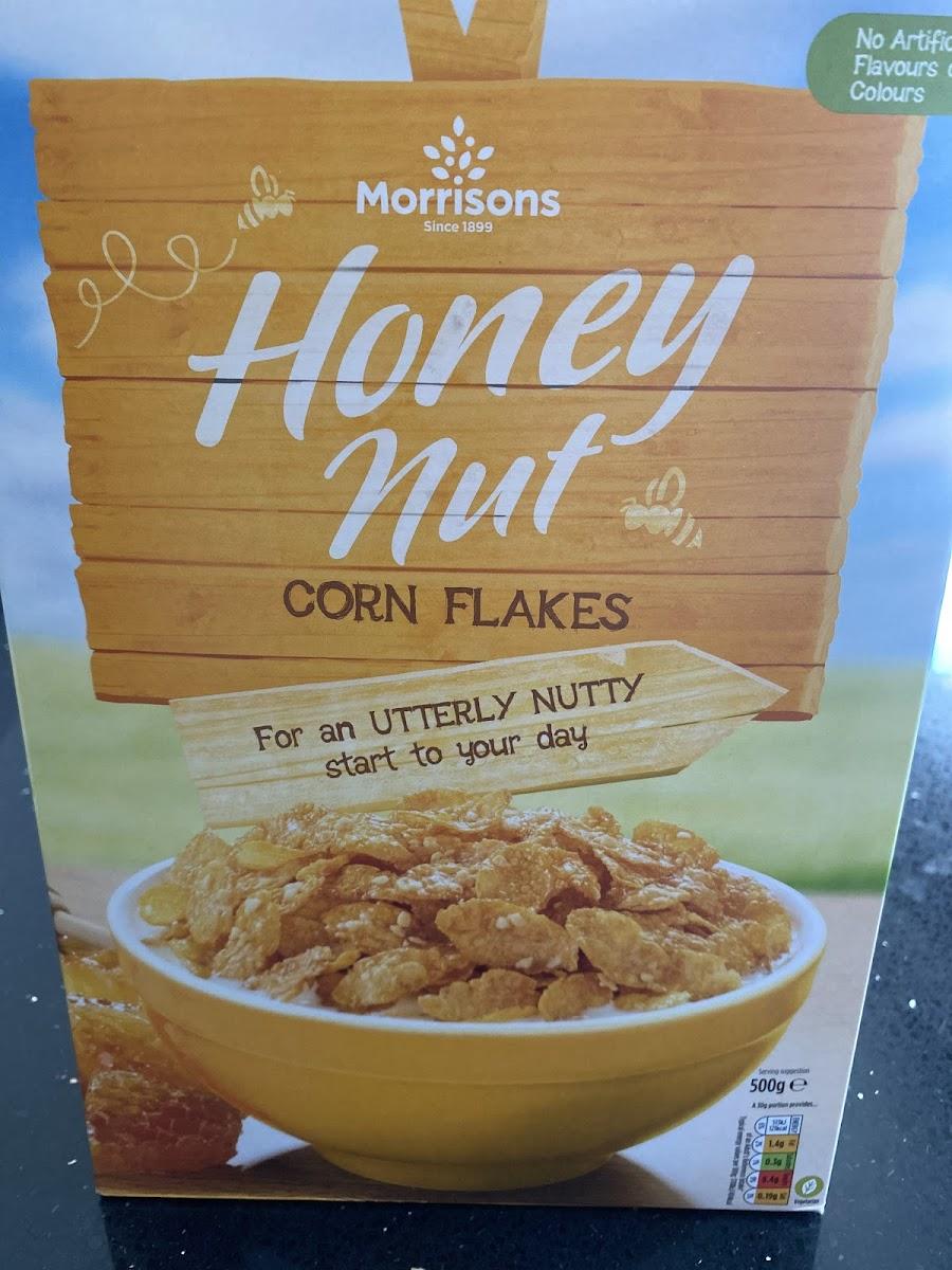 Honey Nut Corn Flakes