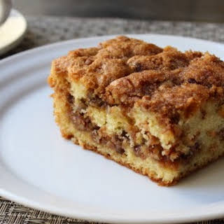 Pecan Sour Cream Coffee Cake – Now with More Crumbs.