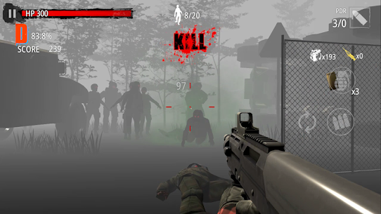 Zombie Hunter D-Day Mod Apk Download For Android and Iphone 8
